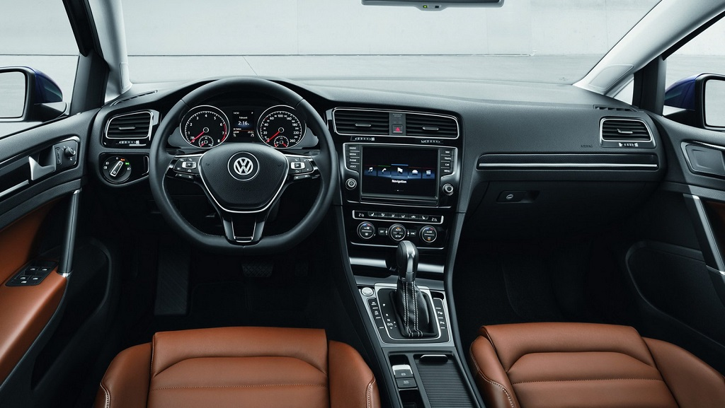 Volkswagen Golf 7 interior