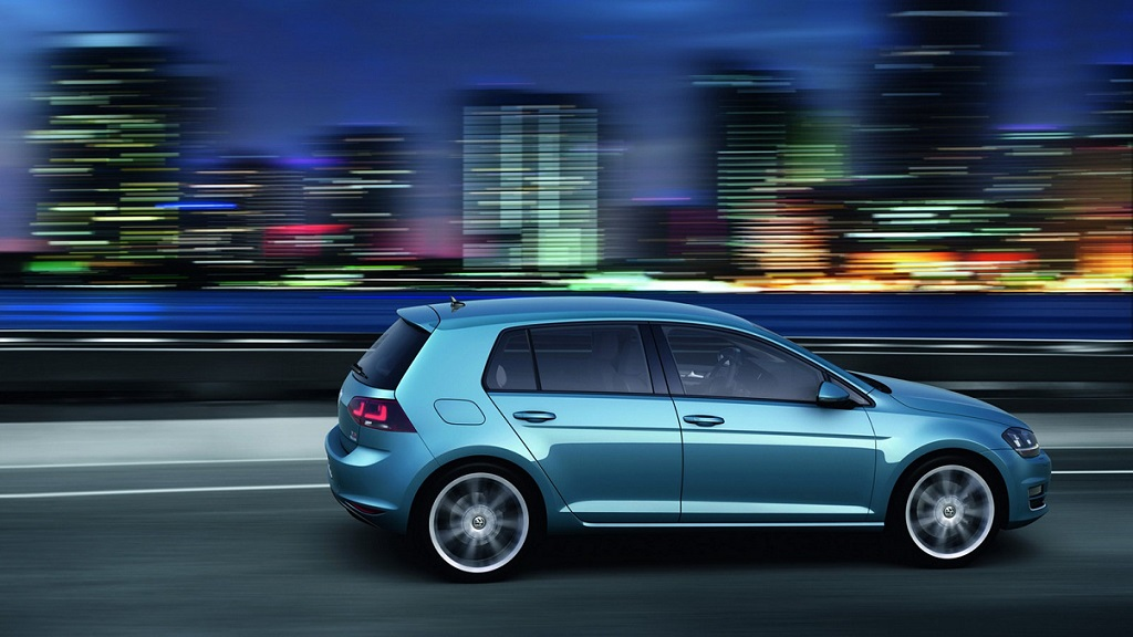 Volkswagen Golf 7 lateral