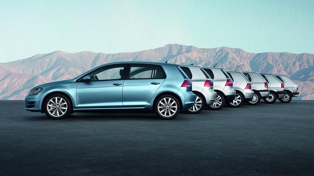 Volkswagen Golf 7 saga