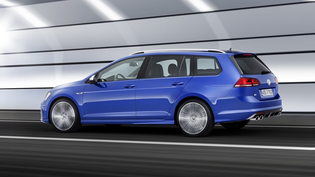 Volkswagen Golf R Variant lateral
