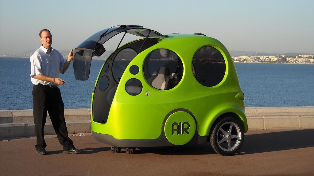coche aire comprimido peque