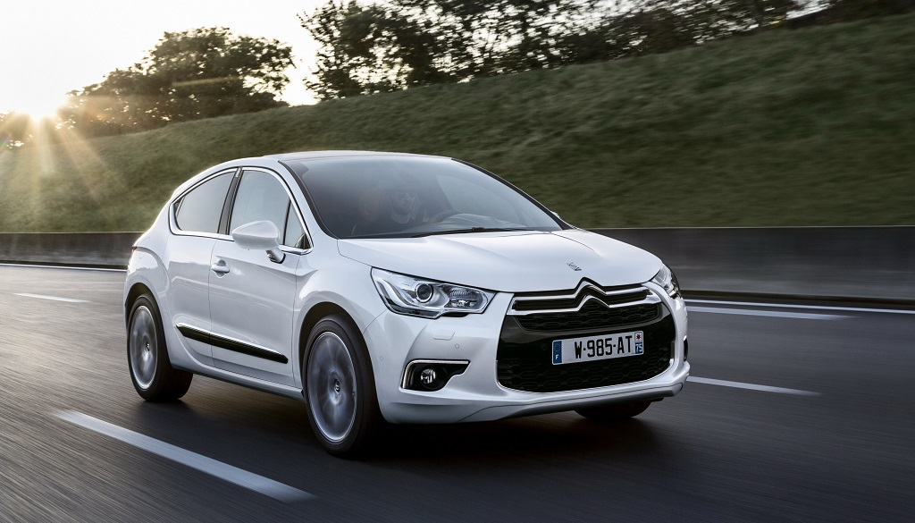 Citroen DS 4 blanco