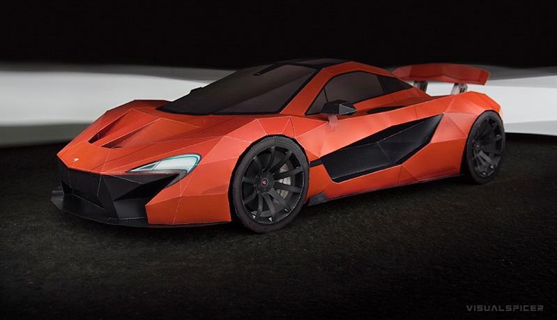 McLaren P1 Visual Spicer