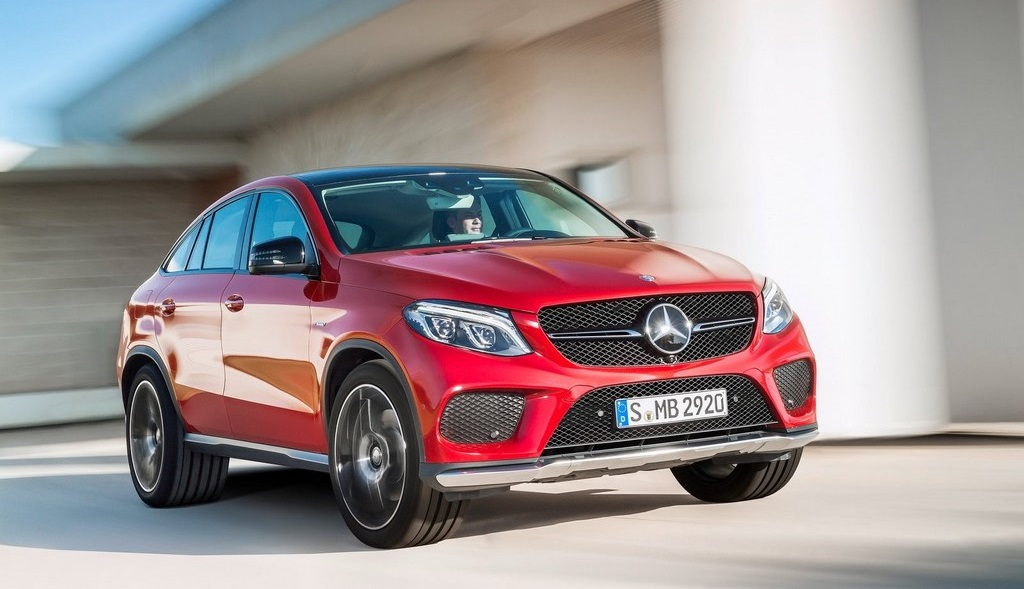 Mercedes-Benz GLE Coupe 27