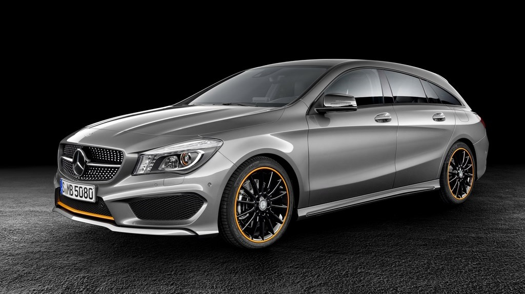 Mercedes CLA 45 AMG Shooting Brake OrangeArt Edition 2