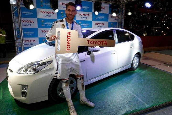 Sergio Ramos Toyota Prius