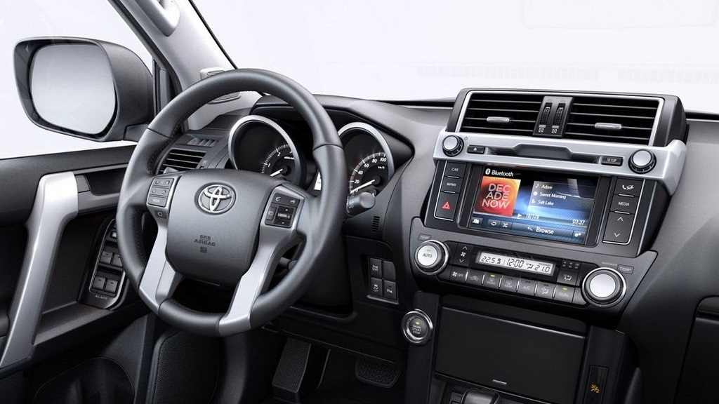 Toyota Land Cruiser 2015 interior