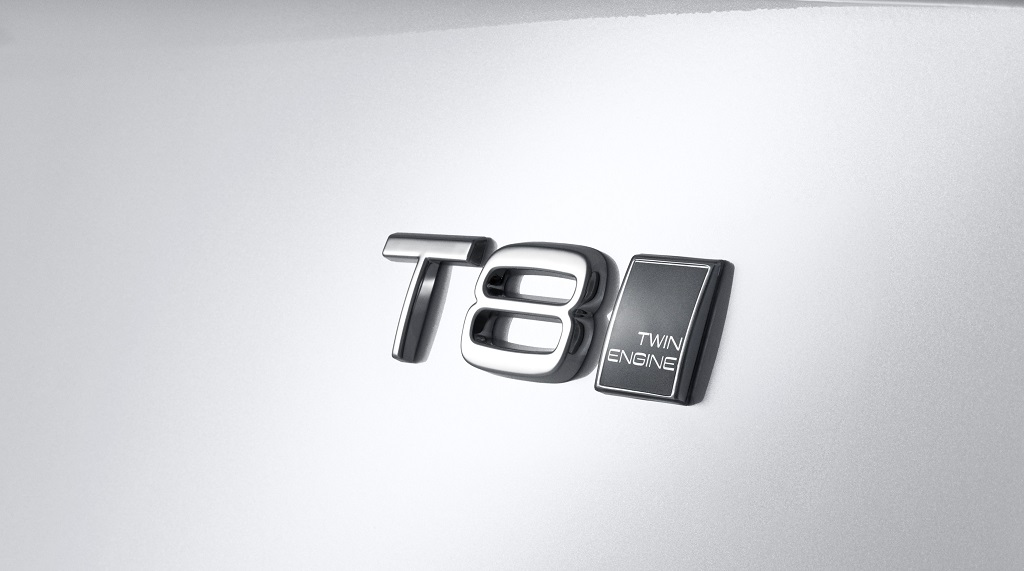 Volvo XC90 T8 Plug-In Hybrid logo