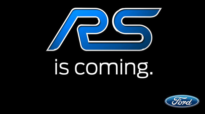 teaser ford rs