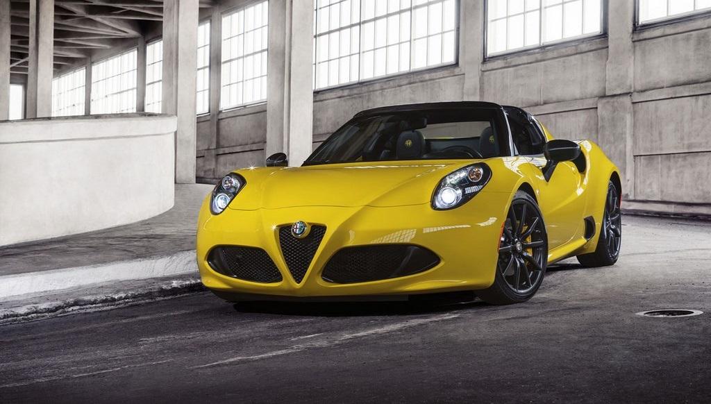 Alfa Romeo 4C Spider frontal