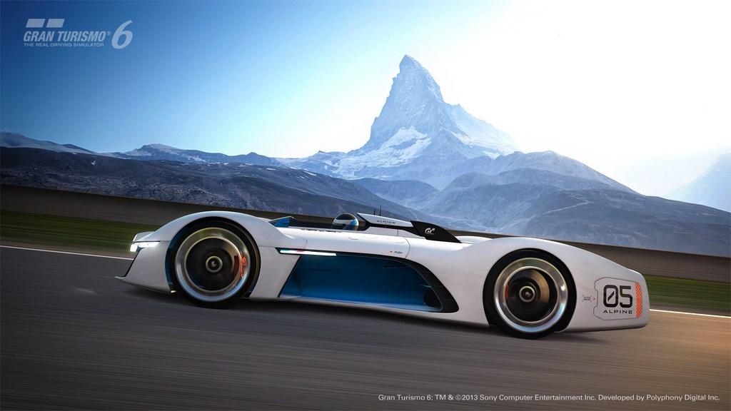 Alpine Vision Gran Turismo 4