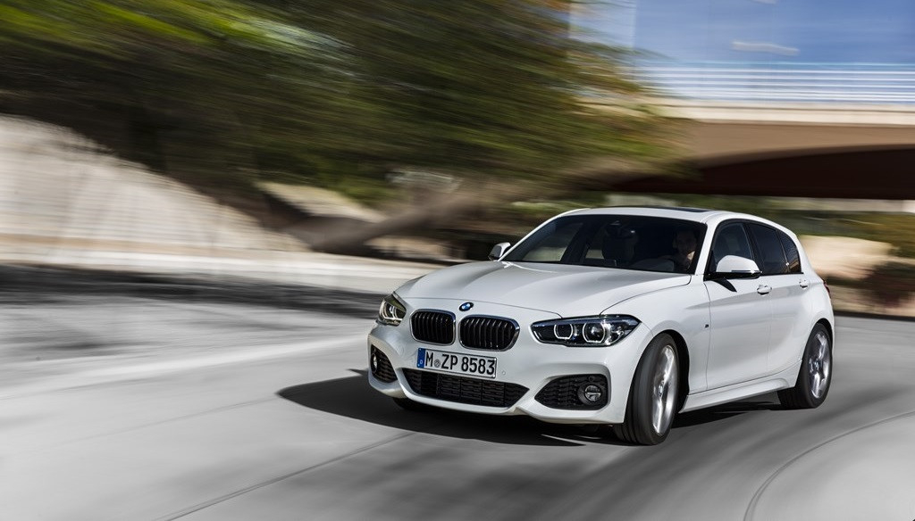 BMW Serie 1 2015 frontal