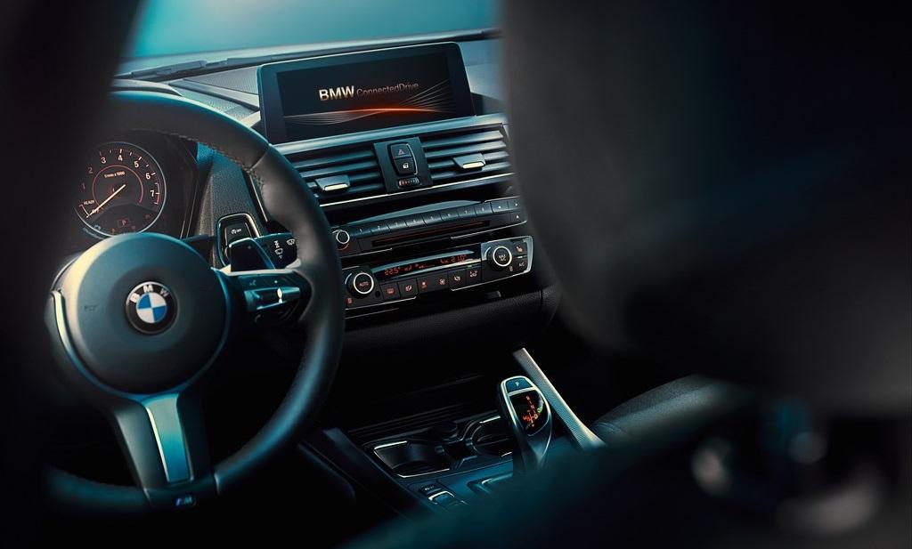 BMW Serie 1 2015 interior