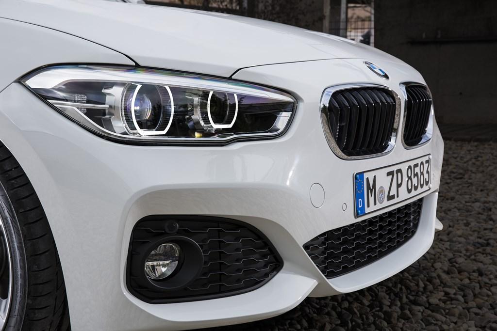 BMW Serie 1 2015 parrilla