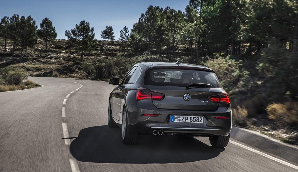 BMW Serie 1 2015 plata zaga