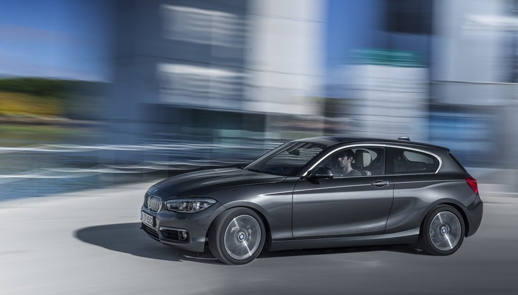 BMW Serie 1 2015 plata