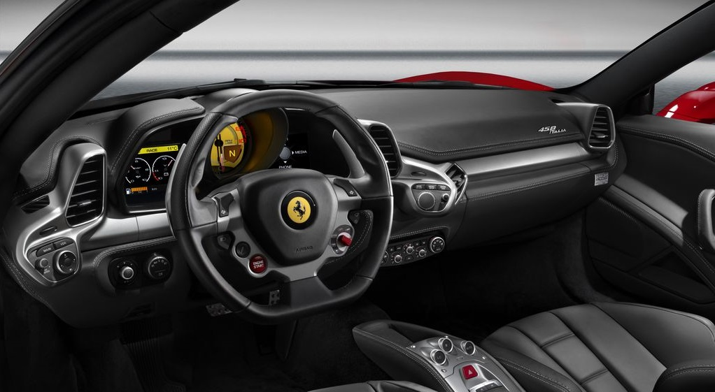 Ferrari 458 Italia volante