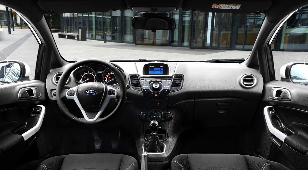 Ford Fiesta BWE interior