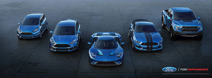 Ford Performance foto de familia 2015
