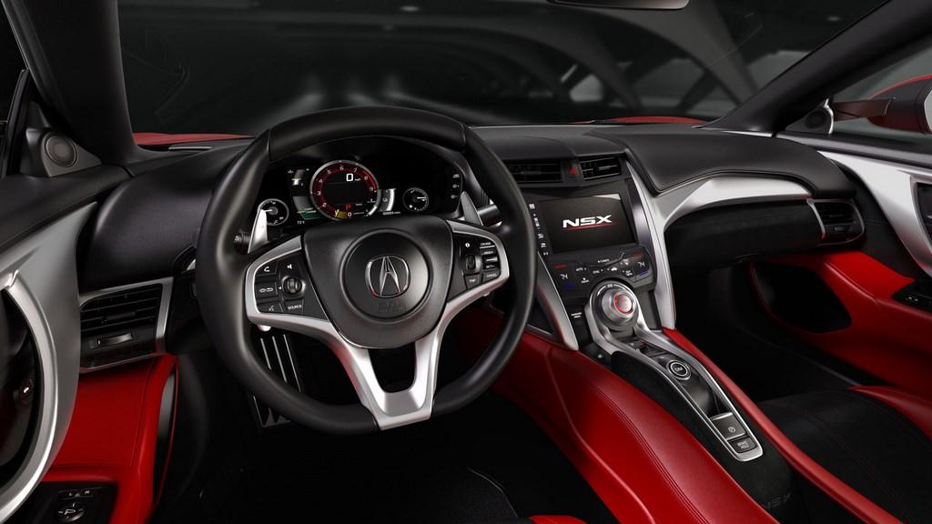 Honda Acura NSX 2015 volante