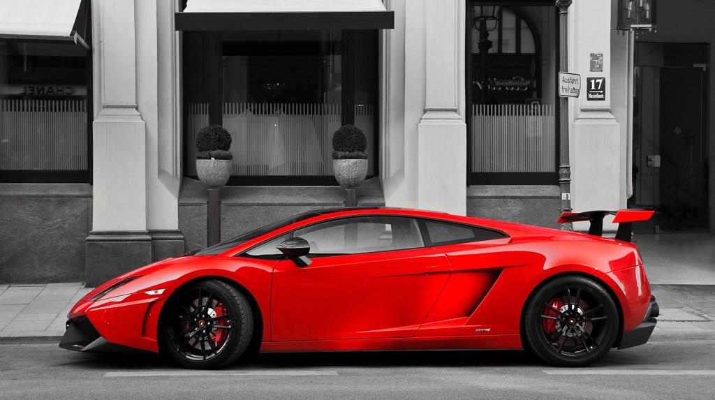 Lamborghini Gallardo rojo