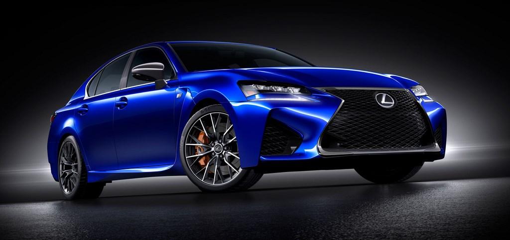 Lexus GS F frontal