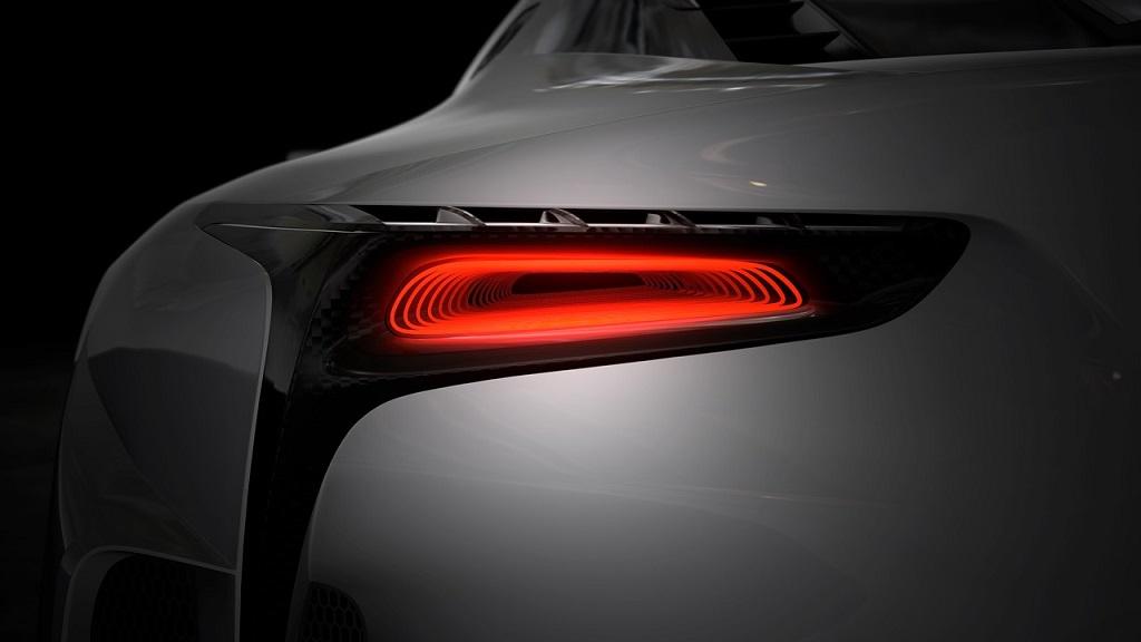 Lexus LF-LC GT Vision Gran Turismo teaser 2