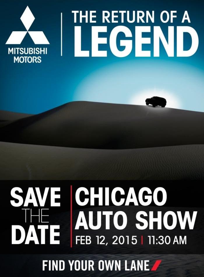 Mitsubishi vuelve una leyenda