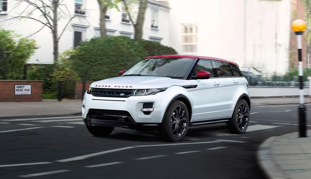 Range Rover Evoque British Edition frontal tres cuartos
