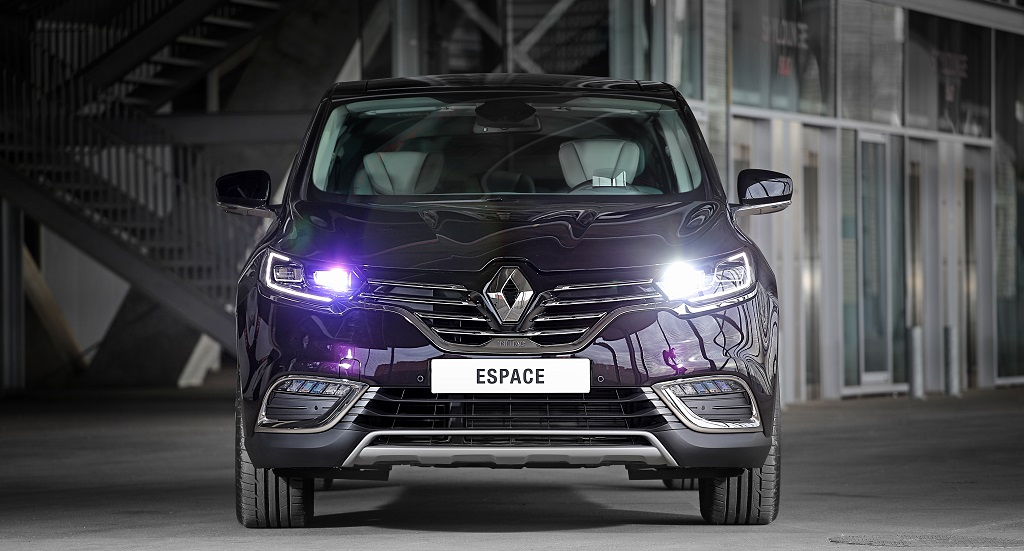 Renault Espace 2015 frontal