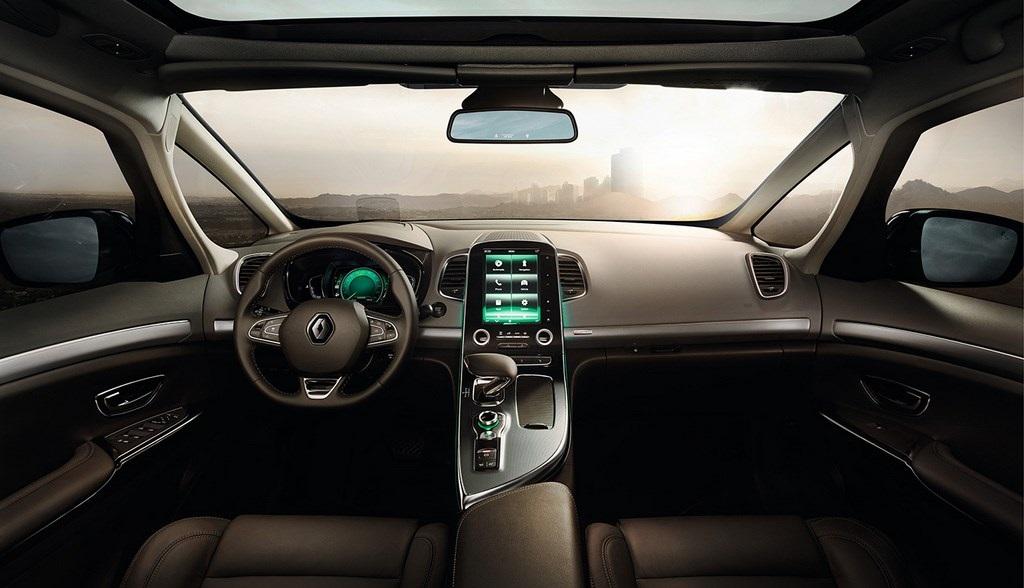 Renault Espace 2015 interior