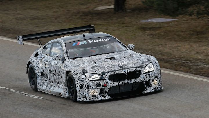 BMW M6 GT3 lateral