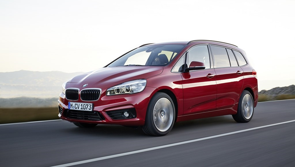 BMW Serie 2 Gran Tourer frontal