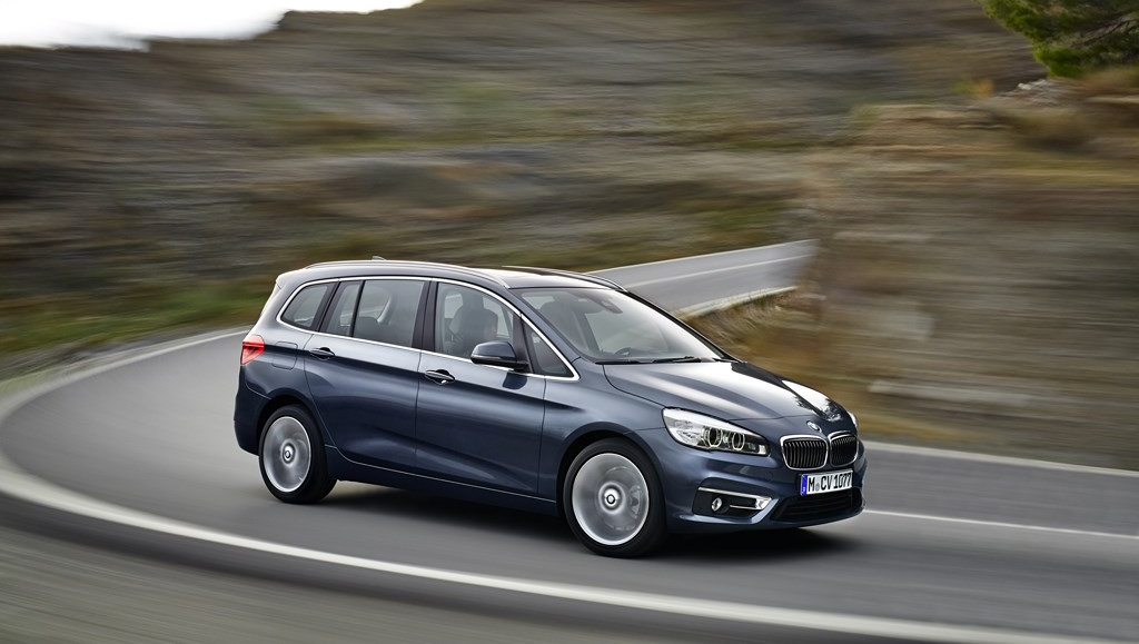 BMW Serie 2 Gran Tourer lateral