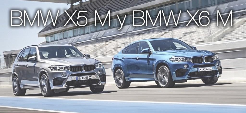 BMW X5 M y BMW X6 M en movimiento