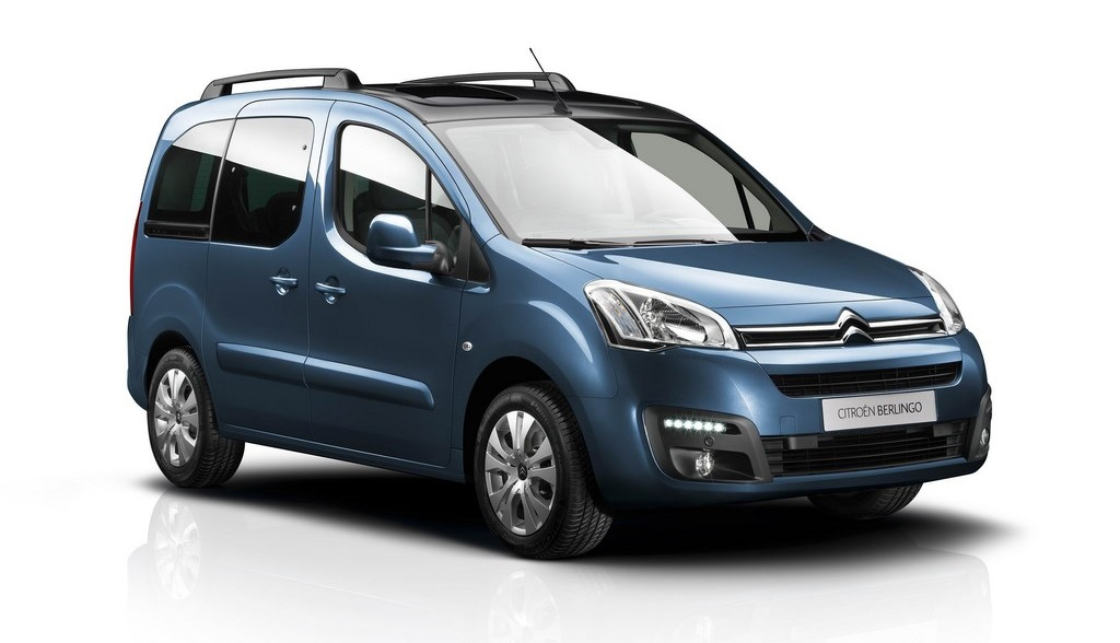 Citroen Berlingo 2015 frontal tres cuartos