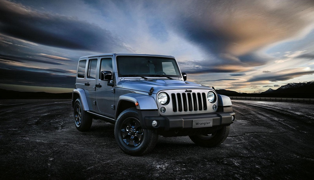 Jeep Wrangler Black Edition II frontal
