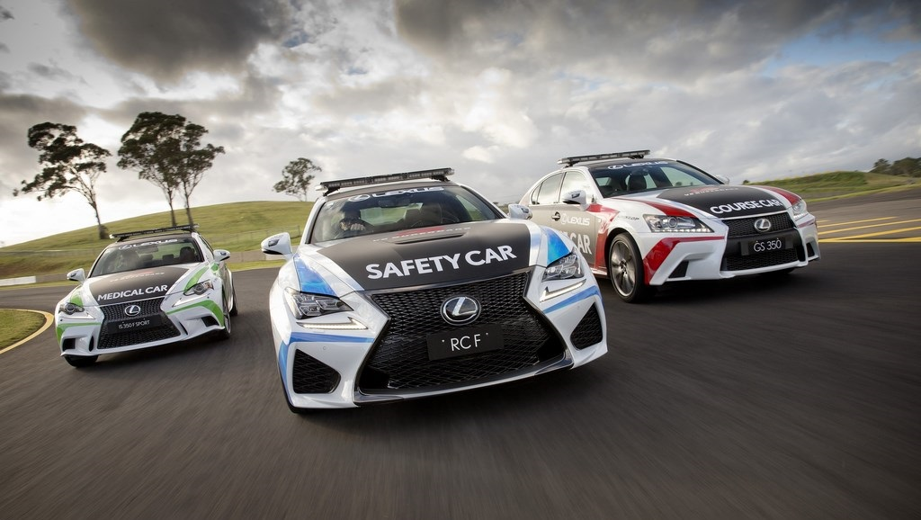 Lexus RC F Safety Car 14