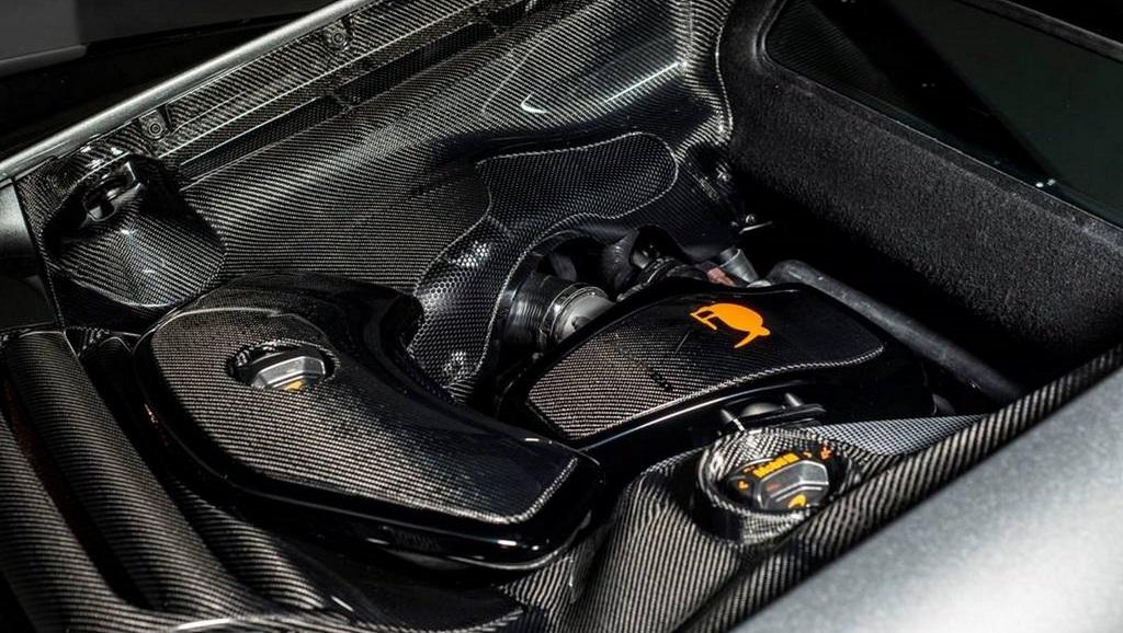 McLaren MSO 650S Project Kilo motor