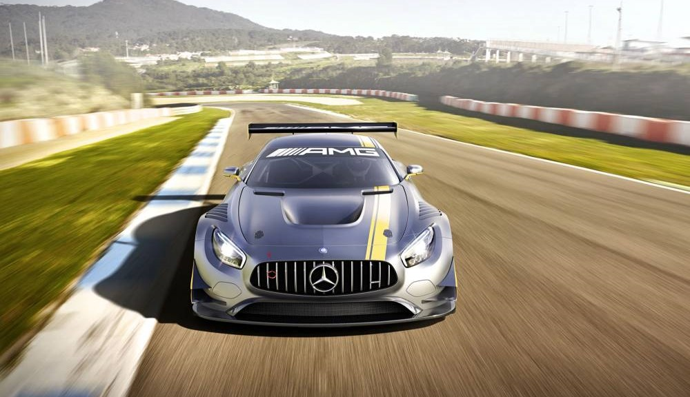 Mercedes-AMG GT3 frontal