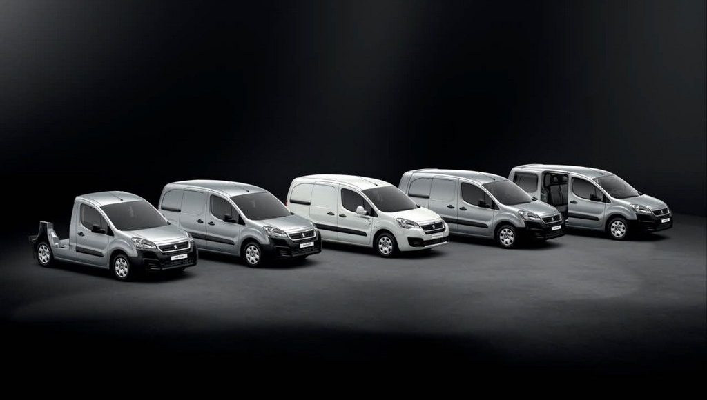 Peugeot Partner gama 2015