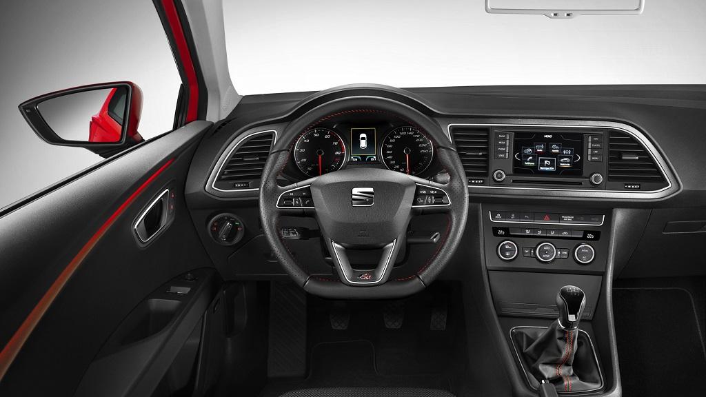SEAT Leon SC interior