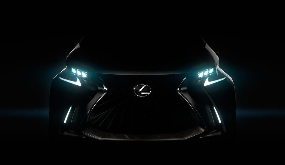 Teaser Lexus LF-SA