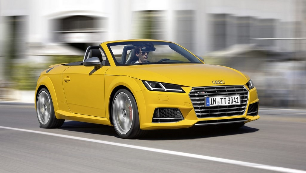 Audi TTS Roadster 2014 en movimiento