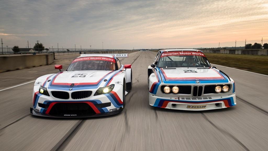 BMW Z4 GTLM y BMW CSL