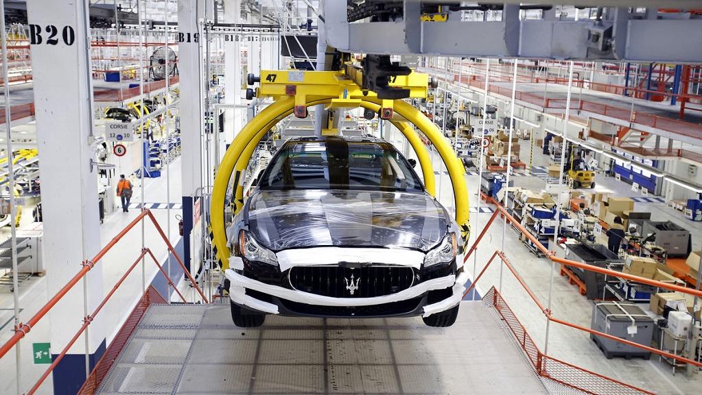 Maserati fábrica