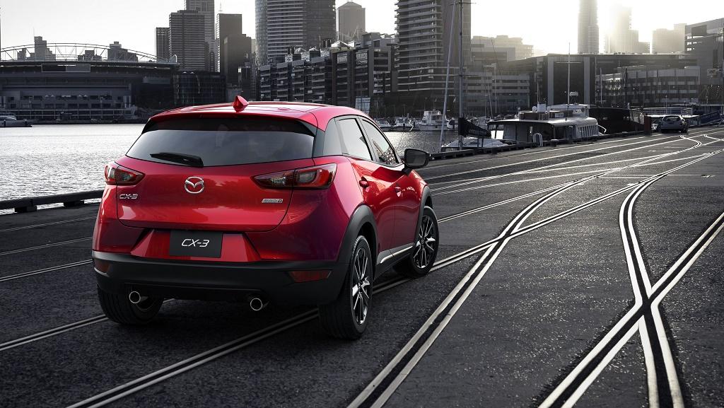Mazda CX-3 zaga