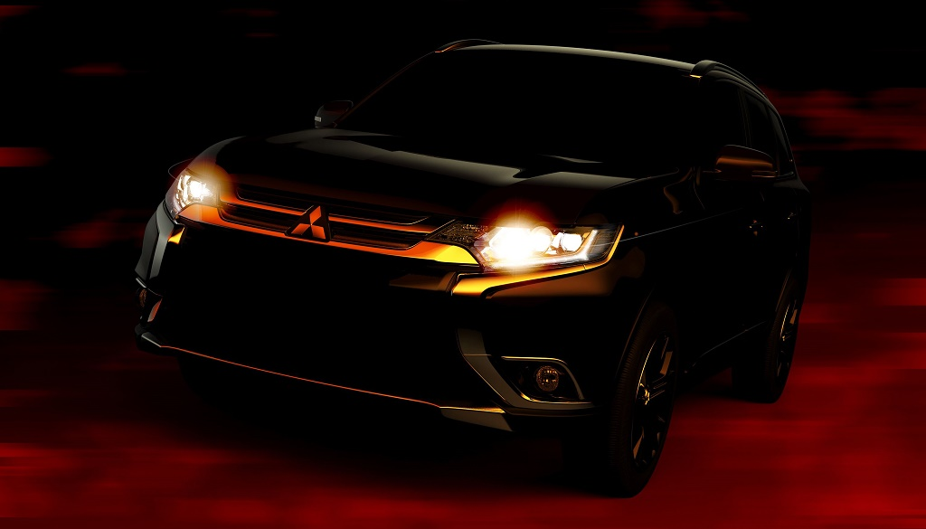 Mitsubishi Outlander 2016 teaser