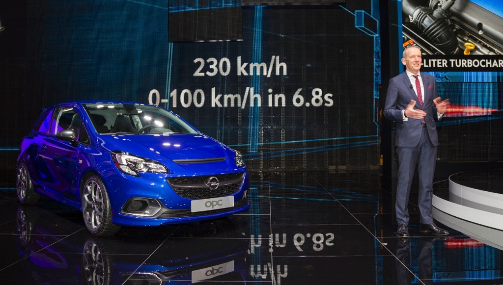 Opel Corsa OPC en Ginebra 2