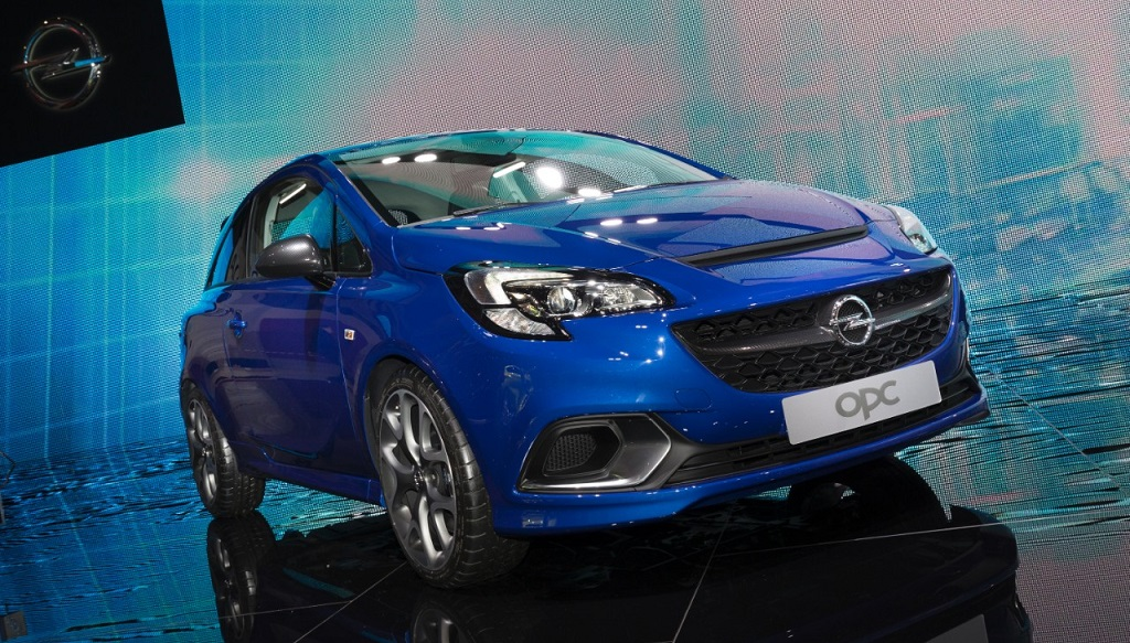 Opel Corsa OPC en Ginebra